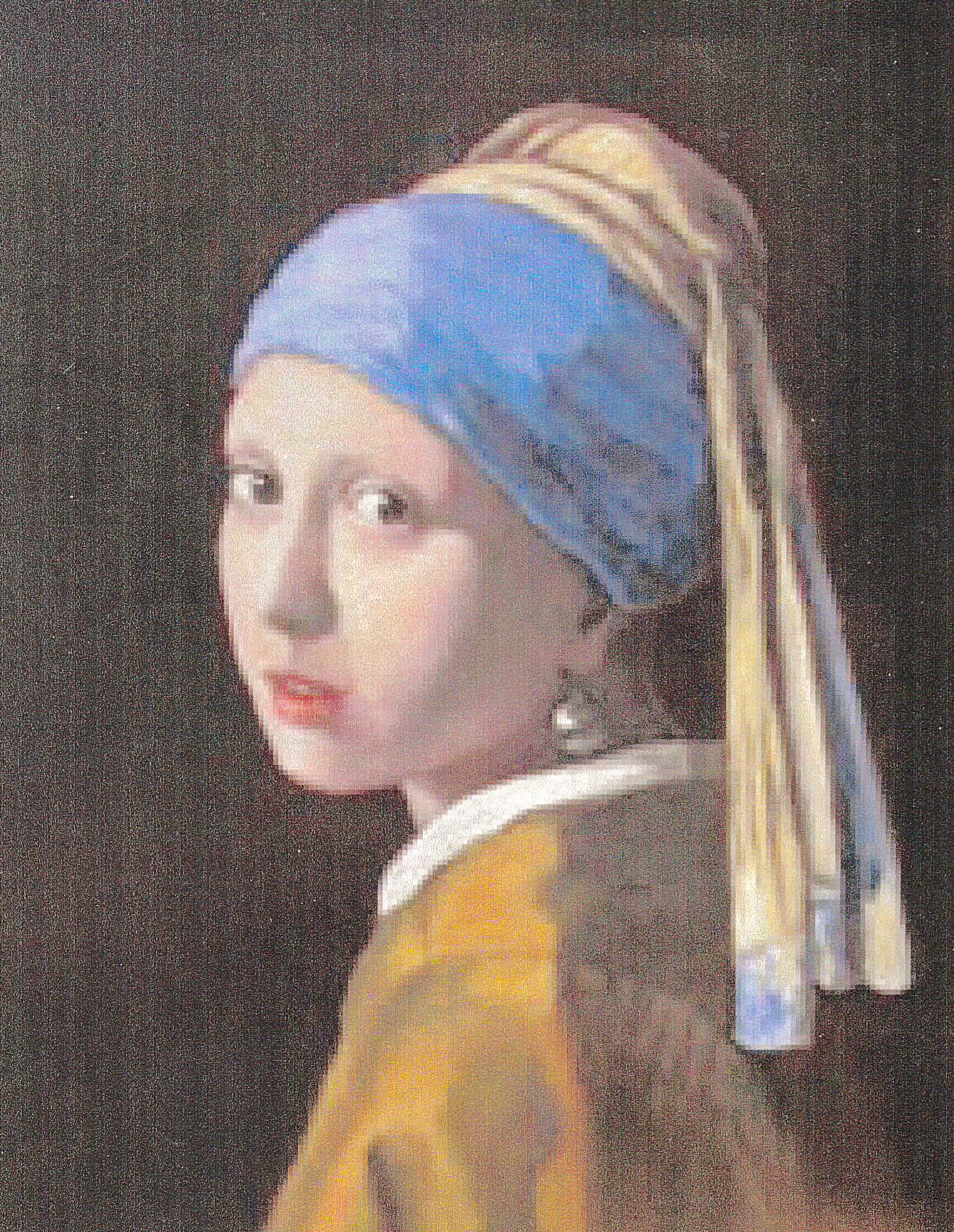 (Repro) Girl with a Turban